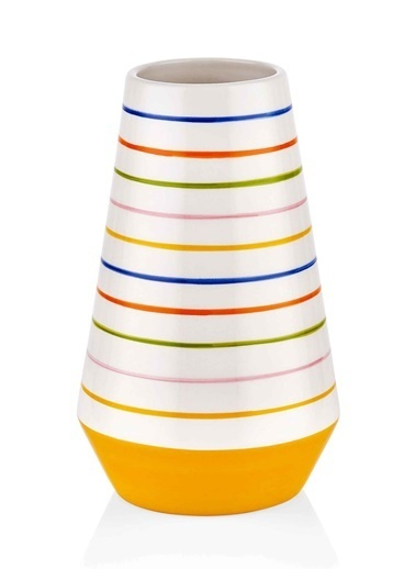 The Mia Vazo - 23 Cm Çok Renkli Renkli